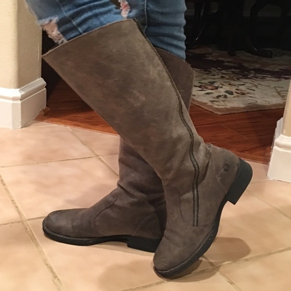 85eb568df2aa Born Shoes - Born Laurette Distressed Suede Boots